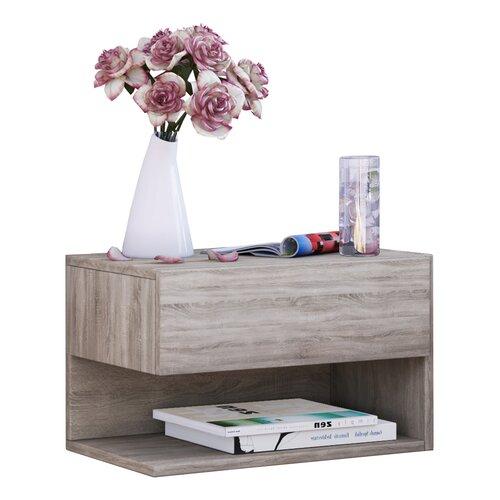 Schweberegal Maxen ModernMoments Farbe: Beige   Wohnzimmer > Regale   ModernMoments
