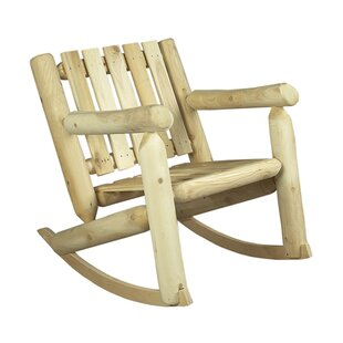 Low Back Indoor / Outdoor Cedar Rocking Chair
