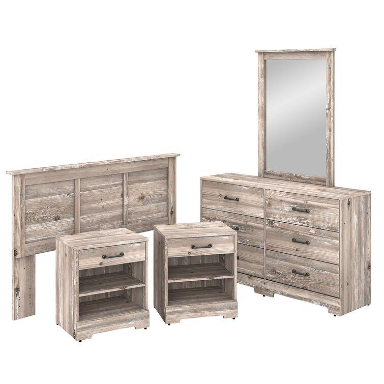 Kathy Ireland Home By Bush Furniture River Brook 5 Piece Dresser Set Reviews Wayfair