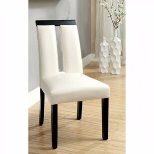 Compare prices Ballintoy Upholstered Dining Chair (Set of 2) by Orren Ellis Reviews (2019) & Buyer's Guide