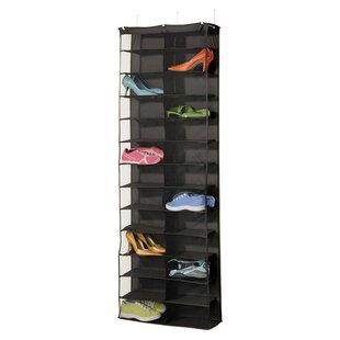 Richards Homewares Gearbox StorageCaddy 26 Pair Overdoor Shoe Organizer