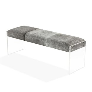 Interlude Aiden Upholstered Bench