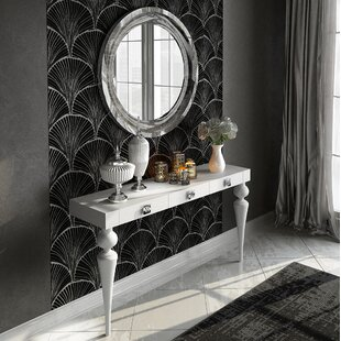 Everly Quinn Kondo Console Table and Mirr..