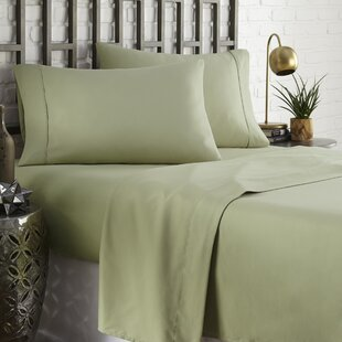 Modern Green Texture Embroidery Sheets Sheet Sets Allmodern