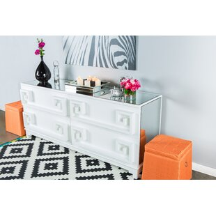 Statements by J 4 Drawer Double Dresser