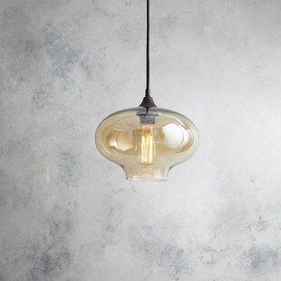 Gravley 1-Light Schoolhouse Pendant by Brayden Studio