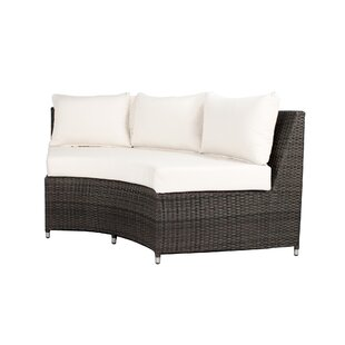 Rorie Round Sofa with Cushions