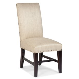 Evans Upholstered Parsons Chair by Fairfi..