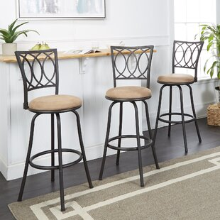 Pleasant Atoka Adjustable Height Swivel Bar Stool Set Of 3 Alphanode Cool Chair Designs And Ideas Alphanodeonline