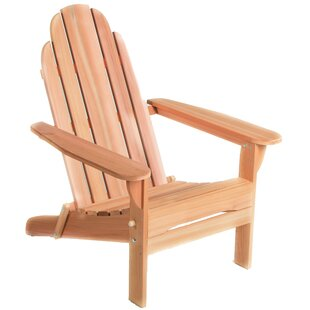 All Things Cedar Western Red Cedar Solid Wood Folding Adirondack Chair