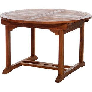 Find the perfect Humphrey Extendable Teak Dining Table Best Reviews
