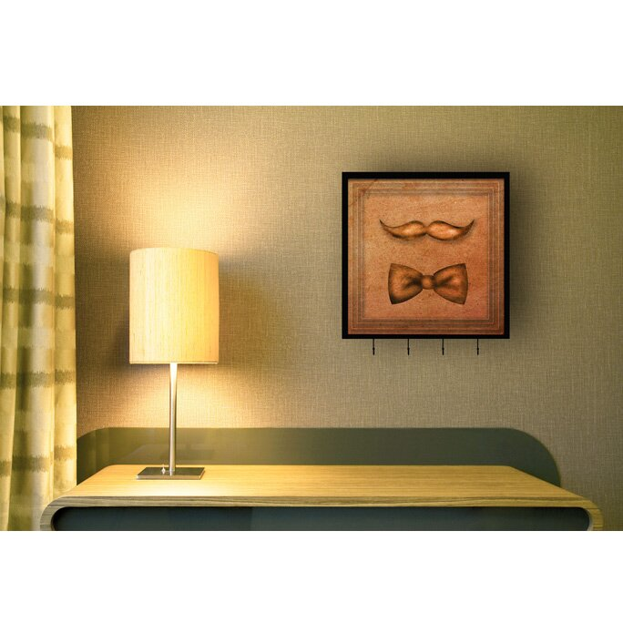 Ptm Images Bow Tie Wall Mounted Coat Rack Wayfair