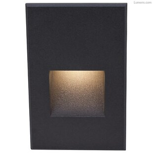 Inexpensive 1 Light LED Step Light By WAC Lighting