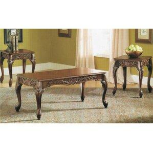 Oswego 3 Piece Coffee Table Set by Astoria Grand