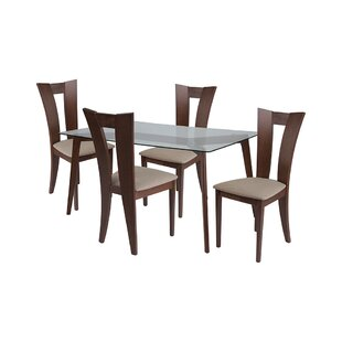 Ansel 5 Piece Dining Set by Ebern Designs
