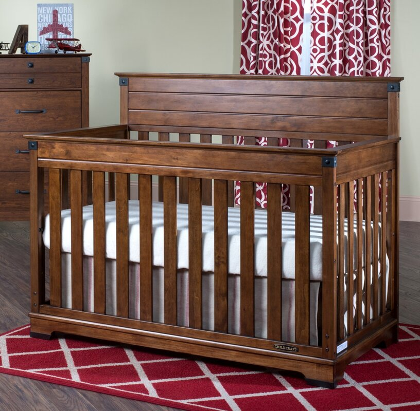 default_name - Child Craft Redmond 4-in-1 Convertible Crib & Reviews Wayfair