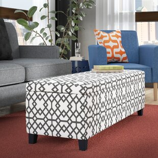 Buy clear Schmit Upholstered Storage Bench ByWrought Studio
