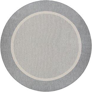 Linden Gray Light Gray/Dark Gray/Steel Gray Area Rug by Beachcrest Home