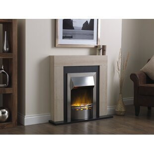 Optiflame Marbello Stainless Fire Suite By Home & Haus