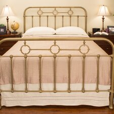 Barrington Panel Bed by Benicia Foundry and Iron Works