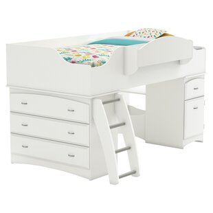 Purchase Imagine Twin Low Loft Bed with Drawers by South Shore Reviews (2019) & Buyer's Guide