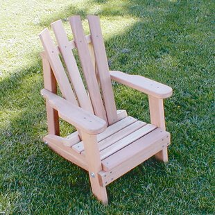 Cedar Furniture and Accessories Child Solid Wood Adirondack Chair