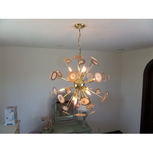 Ivy Bronx Glyndon 12-Light Sputnik Chandelier