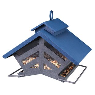 Akerue Industries Chalet Style Seed Hopper Bird Feeder