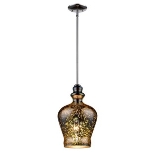 InFurniture PL Series 1-Light Bell Pendant