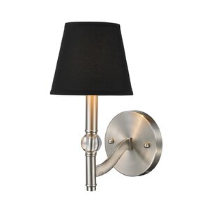 Deals Pierron 1-Light Wall Sconce By Charlton Home