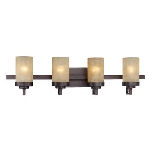 Price Check Clarissa 4-Light Vanity Light By Fleur De Lis Living