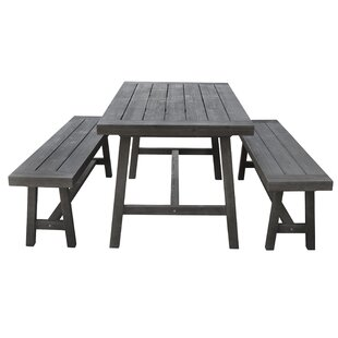 Southport 3 Piece Patio Dining Set by Gra..