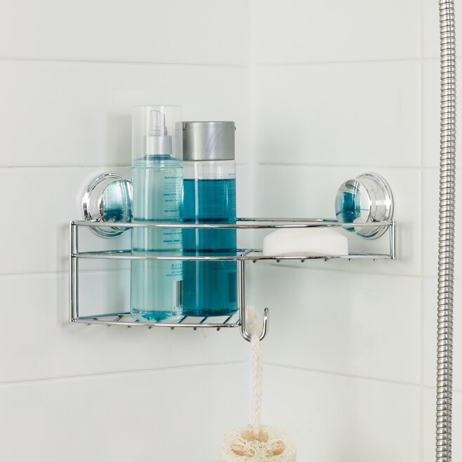 Better Living Products Twist N Lock Plus Shower Caddy & Reviews ...