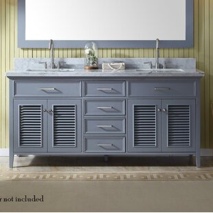 Hamil 73 Double Bathroom Vanity Set by Highland Dunes