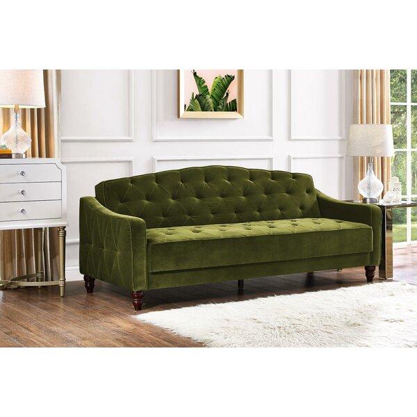 Superieur Vintage Tufted Convertible Sofa