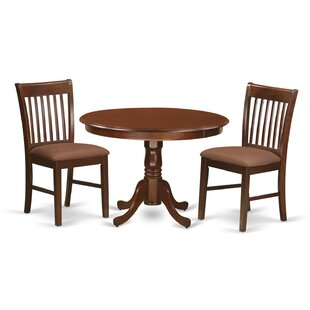 Travis 3 Piece Dining Set by August Grove Savingst