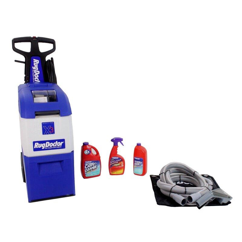 Rug Doctor X3 Carpet Extractor Wayfair