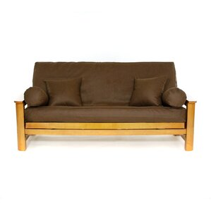 Rawhide Earth Box Cushion Futon Slipcover by Lifestyle Covers