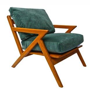 Brayden Studio Plaisance Mid-Century Armchair