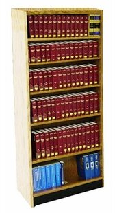 Open Back Single Face Shelf Adder Standard Bookcase W.C. Heller