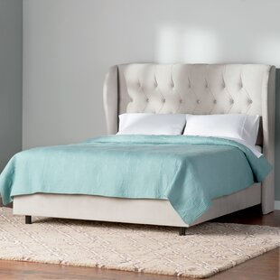 Altjira Upholstered Panel Bed by Willa Arlo Interiors