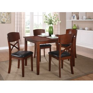 Jonas 5 Piece Dining Set by Woodhaven Hill