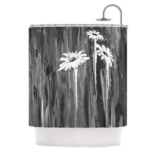 Daises Single Shower Curtain