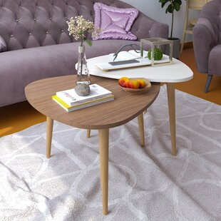 Wanneroo 2 Piece Coffee Table Set (Set Of 2) by George Oliver Find