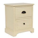 Reiban 2 Drawer Nightstand by Highland Dunes