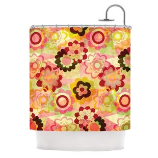 KESS InHouse Colorful Mix Shower Curtain