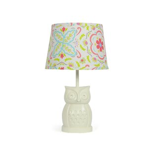 Owl Boho Bloom 17 Table Lamp