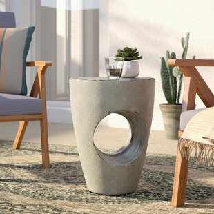 Great Price Aldham Concrete Side Table By Mistana