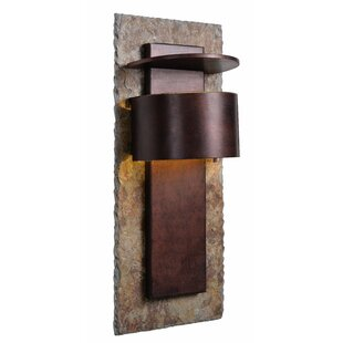 Price Check Nelligan LED Outdoor Wall Lantern By Bloomsbury Market