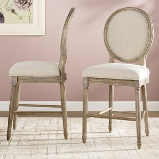 Clintwood 24 Bar Stool (Set of 2) by Three Posts